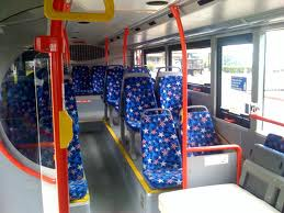 Valet lower deck bus seats